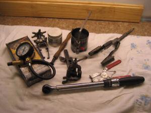Outils de réparation de moteurs