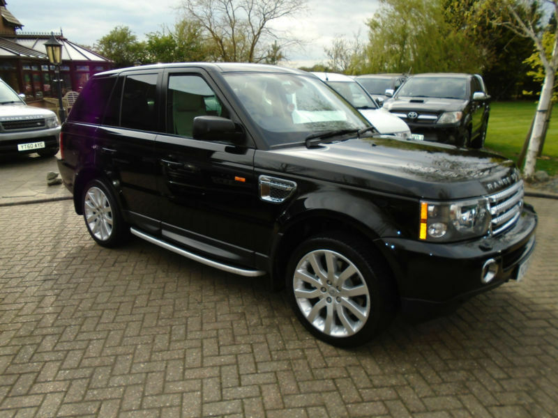 2006 land rover range rover sport 4 2 v8 auto supercharged. Black Bedroom Furniture Sets. Home Design Ideas