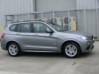 BMW X3 2.0TD ( 184bhp ) Auto 2011MY xDrive20d M Sport