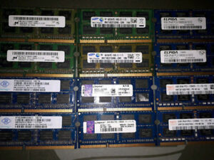 Various 4GB Sticks Of Laptop Ram, 1 for $15 or 2 for $20