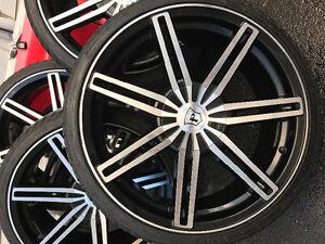Pinnacle Rims with tires! Cambridge Kitchener Area image 4