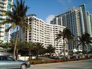 condo a hollywood /hallandale 1 chambre balcon avec vue sur mer