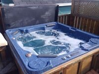 Hot tub and cover for sale!