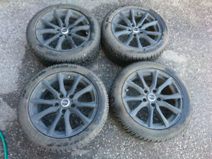 """17"""" Winter Package for BMW 3-series / X1, Runflat tires!"""