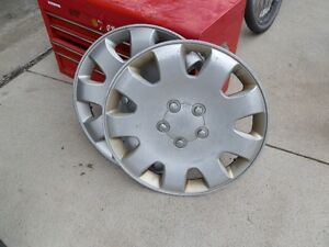 Wheel covers - 205 55R16 size covers. Came off a Mazda 5