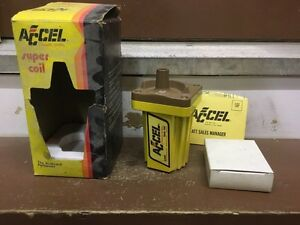 Accel 140001 ignition coil NOS