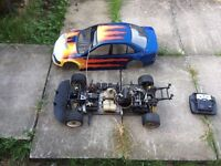 1/5 scale 2 stroke car
