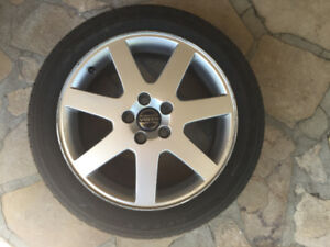 Kelly Edge 205/50R17  with rims - 1  year of use only!