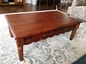 MOVING SALE - Wooden Coffee Table