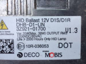 HID ballasts and  bulb Hyundai Kia Genesis