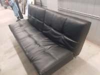 Klick Klack Split Leather Sofa Couch selling for $400.00 o.b.o