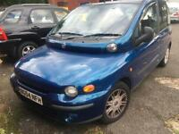 SPARES & REPAIRS. CAMBELT HAS SNAPPED Fiat Multipla 1.6 16v 100 ELX. 94 K