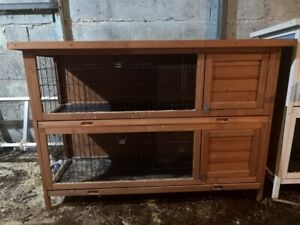 2 Story rabbit hutch