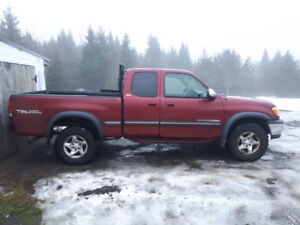 2001 toyota tundra priced to sell