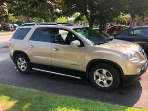 Acadia AWD 2007 Gold colour and dark leather 3.6 litre V6, 209K