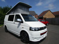 Volkswagen VW T5 T28 SWB 4 Berth Camper Van Pop Top Conversion 13671