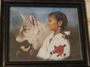 Native Art Print Artist Eddie Lepage