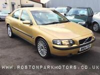 2004 VOLVO S60 2.4 D5 SE [Geartronic] auto 1 owner full history leather