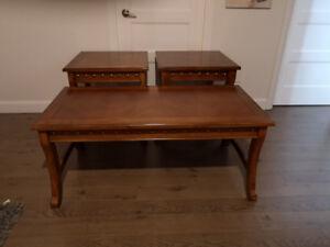 Tables de salon en bois