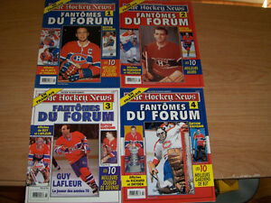 FANTOMES DU FORUM-COMPLETE SET OF 4 ISSUES-THE HOCKEY NEWS
