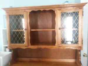Vintage China Cabinet and Hutch - REDUCED - NEED IT GONE!!!