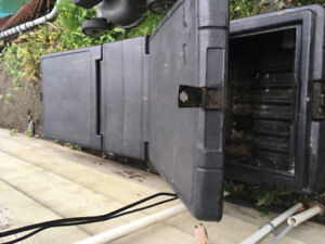 Black Truck Tool Box - Used