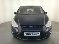 2014 FORD S-MAX TITANIUM TDCI DIESEL 1 OWNER 7 SEATS SERVICE HISTORY FINANCE PX