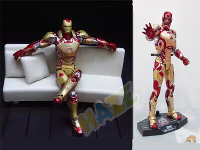 k MK42 with LED Light Action Figure 1/6th Model Toy (Iron Man Mark 42)