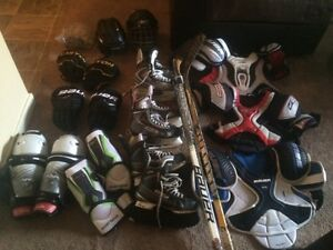 Hockey equipment for sale all in great condition
