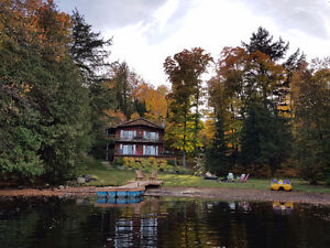 Cottage on Baptiste Lake
