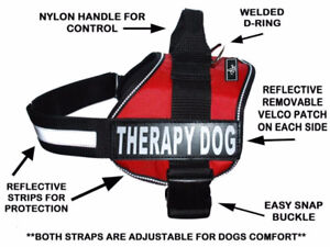 i have 2 Therapy Dog Harness Neoprene brand new , wrong size