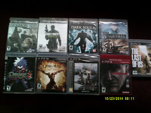 TEN PS3 GAMES BUNDLE  TOP RATED GAMES - OR FOR SALE INDIVIDUALLY