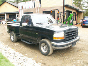 F150  STEPSIDE  SHORT BOX  1992