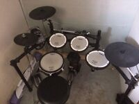 Td 15 electronic drum set w/ amp.