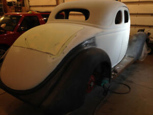 ALL STEEL 1935 FORD COUPE