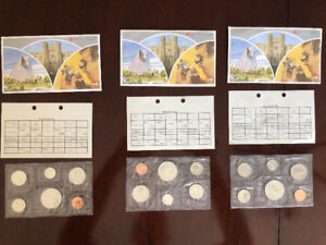1983 Royal Canadian Mint Coins (uncirculated)