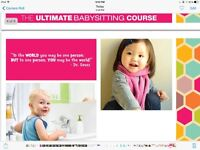 The Ultimate Babysitting Course-July 22nd,23rd,28th&29th