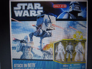 STAR WARS Attack On Hoth Playset Strathcona County Edmonton Area image 1