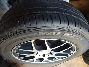 Rims and tires that fit 04 to 08 Pontiac Grand Prix