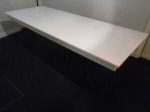 Very large folding table - Solid Wood