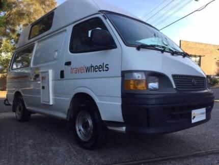 Toyota Hiace Ex Rental Campervan For Sale - Sydney