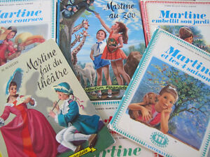 Divers livres vintage de la collection «Martine». Je poste!