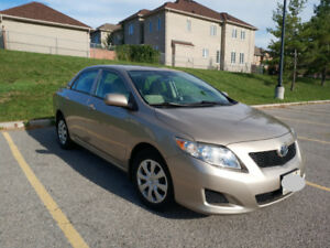 2010 Toyota Corolla - Low Mileage -67K Only  Excellent Condition