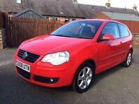 2008 VW POLO 1.4 TDI MATCH, SERVICE HISTORY, 1 YEAR MOT