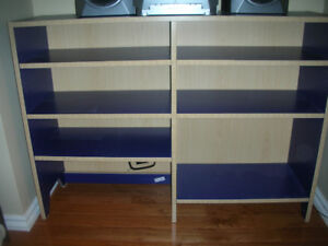 IKEA LOW OPEN SHELVES BOOKCASE STORAGE