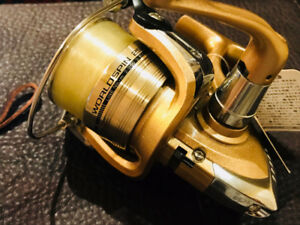 Daiwa World Spin 2500 Reel combo