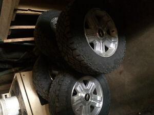 """18"""" Wrangler LT tires"""