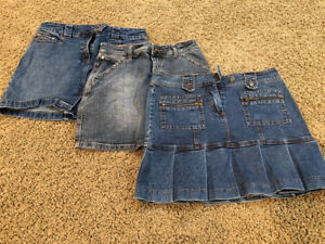 Jean skirts size 6 or women's small