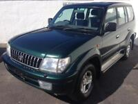 2002 02 TOYOTA LAND CRUISER GX D4D 8 SEATER - PX WELCOME