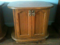 TWO LARGE END TABLES